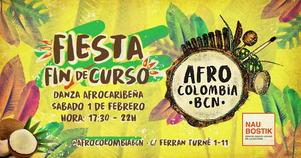 Fiesta fin de curso AfroColombiaBCN